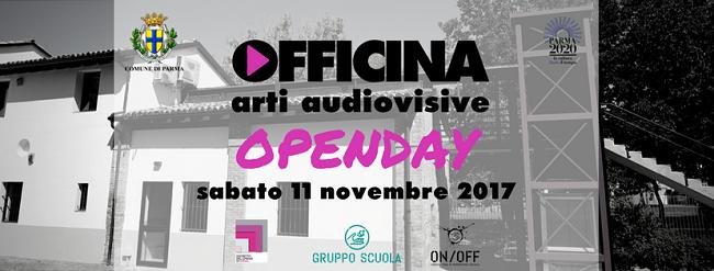 Invito Open Day Officina Arti Audiovisive
