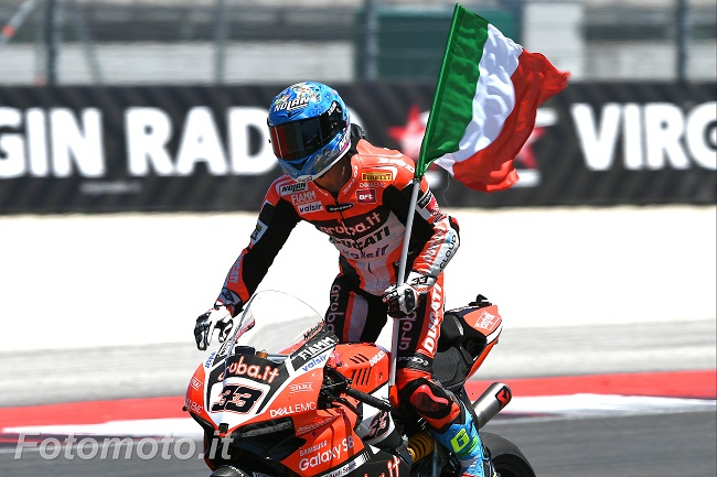 Marco Melandri / PHOTO FABRIZIO PETRANGELI