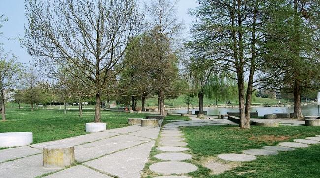 Parco Amendola Sud Modena progetto Leonardi - Stagi