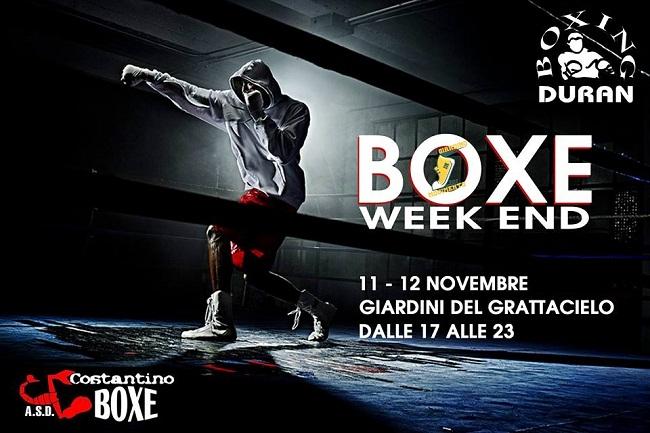 boxe week end
