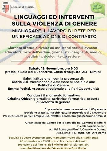linguaggi ed interventi sulla violenza di genere