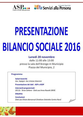 presentazione bilancio sociale