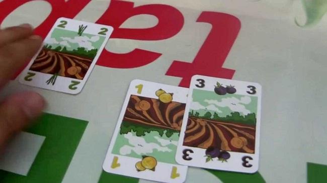 vegetables gioco di carte