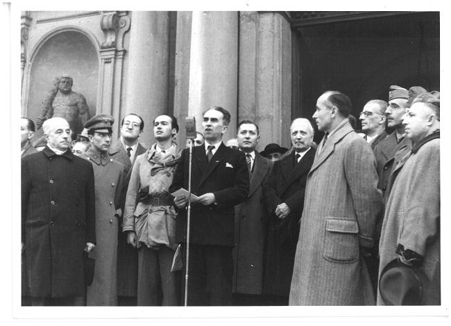 8 dicembre 1947 medaglia doro a Modena discorso in accademia