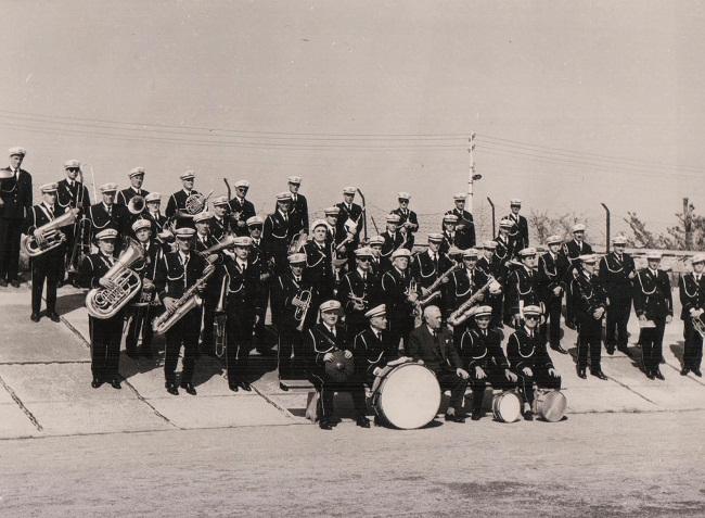 Banda di Rimini. M° Antonio Di Jorio. 1956