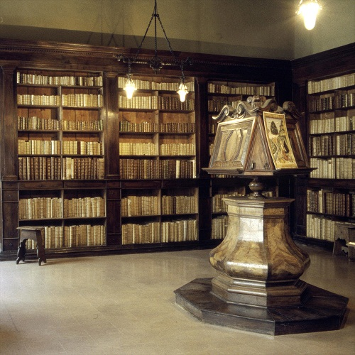 biblioteca gambalunga - le sale seicentesche