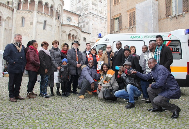 consegna ambulanza ghana