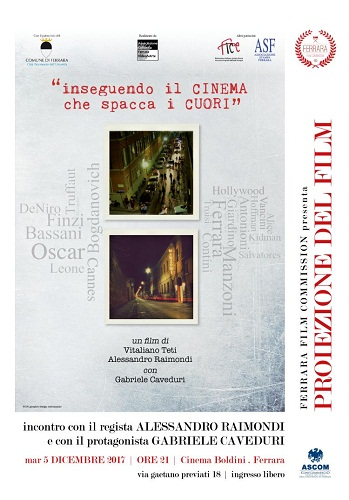film inseguendo il cinema