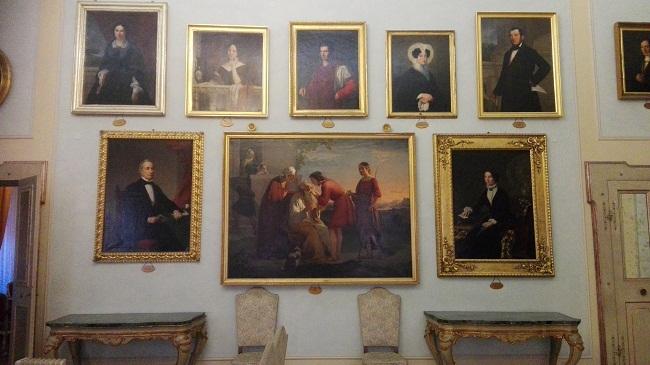 quadreria sala di rappresentanza