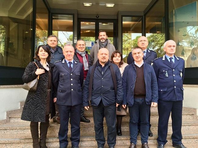 Nuova sede e sopralluogo Romagna Acque