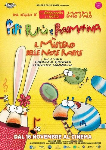 Pipi Pupu e Rosmarina in Il mistero delle note rapite
