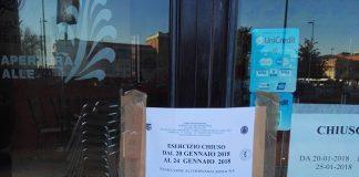 Sigilli chiusura 5 gg Via Torricella 1 Ple Marconi