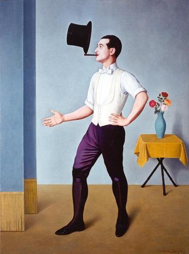 Antonio Donghi- Il giocoliere- 1936