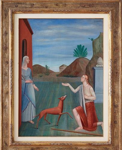 Carlo Carra - Le figlie di Loth- 1919