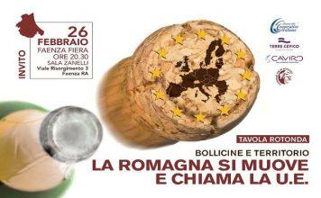 La Romagna si muove e chiama la UE