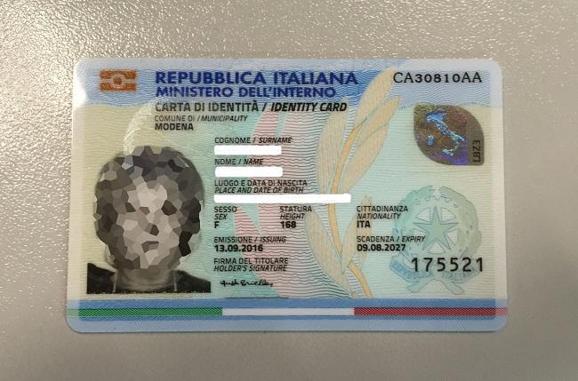 carta identita elettronica pixel