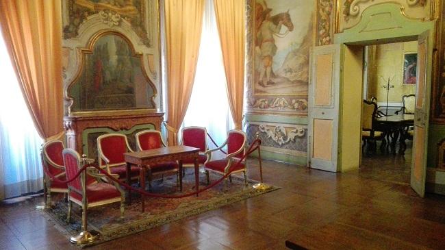 sale storiche palazzo comunale Salottino in Sala degli Arazzi