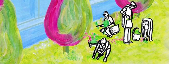Verdeggiando grafica Ilaria Cesari