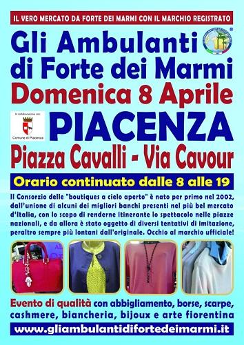 Mercato a Piacenza