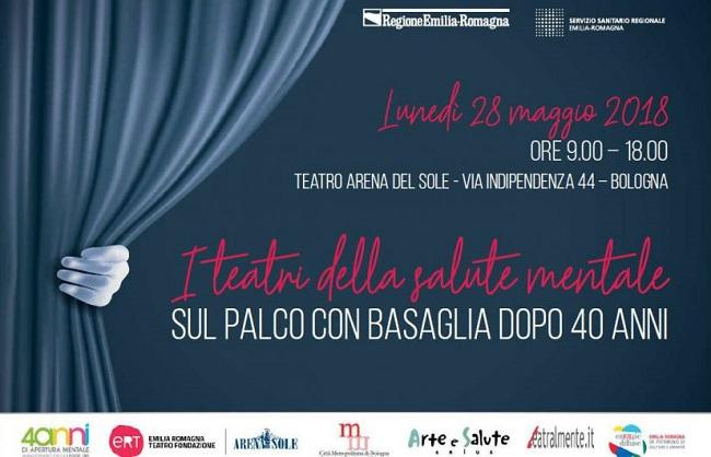 """""""I teatri della salute mentale"""": Convegno nazionale a Bologna"""