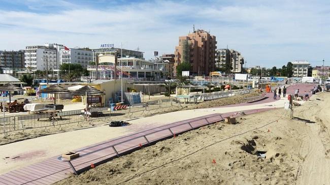 Rmini, PSBO: riconsegna della spiaggia ai bagnini di Pazza Kennedy