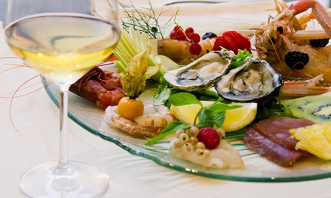 Cena pesce e bollicine al bagno italia di cesenatico - Bagno italia cesenatico ...