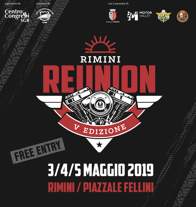 Reunion Rimini 2019 logo