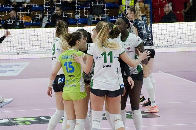 Una grande Green Warriors cede 3-2 contro il Volley Soverato