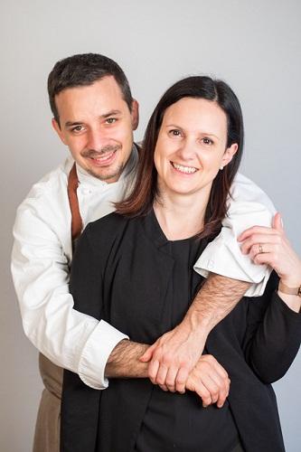 Lo Chef Stellato Gianluca Gorini In Cucina Del Condominio